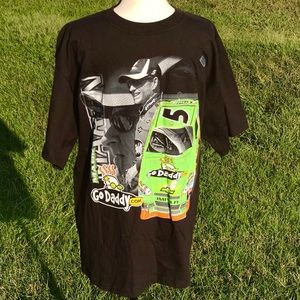 NASCAR Shirt L Mark Martin #5 GoDaddy